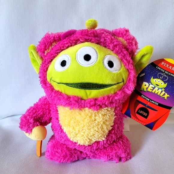 Disney Pixar Toy Story Alien Lotso Remix Plush
